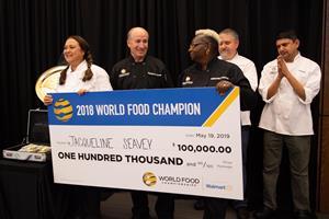密西西比州厨师赢得10万美元冠军 并获得第7届世界粮食冠军