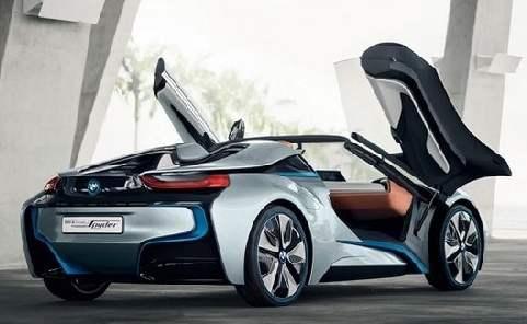 这是BMW i8终结的开始 混合动力跑车